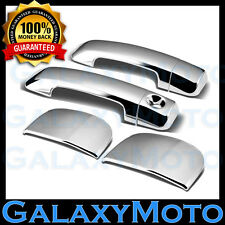 07-16 TOYOTA TUNDRA DOUBLE CAB Chrome 4 Door Handle no Passenger Keyhole Cover