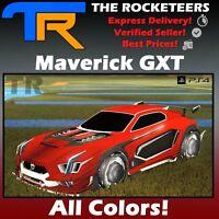 [PS4/PSN] Rocket League Every Painted MAVERICK GXT Rocket Pass 1 Battle-Car New.