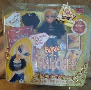 BRATZ Forever Diamondz CLOE Vintage NEW in Box Rare Doll Bonus Real Diamond
