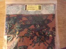 * Longaberger Savannah Floral Large Serving Basket Liner~New #23569310