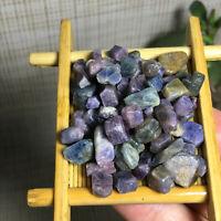 55pcs Natural Unheated violet Purple Sapphire Corundum Facet Rough SpecimenA1472