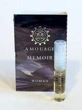 AMOUAGE Memoir - Eau De Parfum Woman - 2ml/0.06 oz Vial NEW on Card