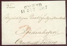 GMÜND 1837 VORPHILABRIEF (D1720