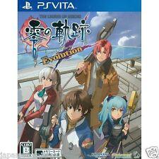 Eiyuu Densetsu : Zero No Kiseki Evolution PS Vita SONY JAPANESE NEW JAPANZON