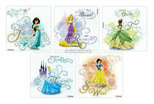 10 Glitter Disney Princess Stickers Kid Party Goody Loot Bag Favor Filler Supply