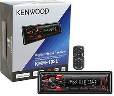 Kenwood KMM-108U Digital Media Receiver Aux USB iHeartRadio Pandora KMM108U B