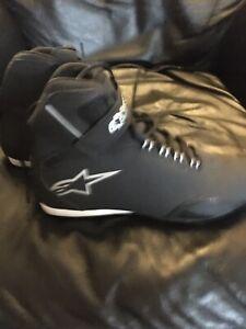 Ladies alpinestars stella waterproof short motorcycle boots new uk size 5