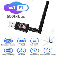 600Mbps Wireless USB Wifi Adapter Router Dongle Band 2.4G W/ Antenna 802.11B US
