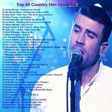 Country Music Promo DVD, Top 40 Country Hit Video's April 2015 NEW ONLY on Ebay!