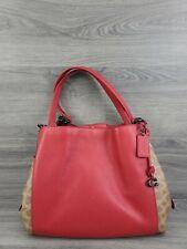 Coach Handbag Dalton 31 Shoulder Bag in Signature Canvas Blocking 76078