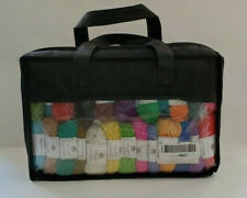 New ListingInscraft Acrylic Yarn 50 Assorted Skeins New 1600 Yds Each Crochet Hooks Markers