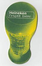 ★ HEINEKEN ★  Esprit Bière #7 Sous bock coaster deckel