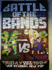 TMNT Wooden Wall Plaque - The Battle of the Bands - The Shells vs The Rebels