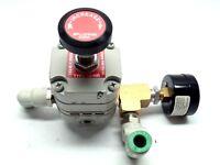 Bellofram TYPE 10-HR Pressure Regulator w/ Norgren 0-160 PSI Gauge