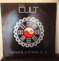 "THE CULT - Revolution EP - 12"" Vinyl Maxi Single - BEG152T"