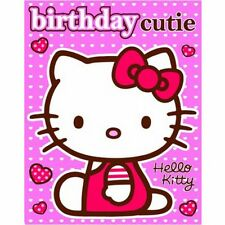 Hello Kitty - Birthday Card With Stickers