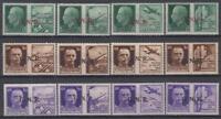 ITALY RSi (Social Republic) - WAR PROPAGANDA n.13-24 cv 600$ MNH** Complete Set