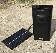 Solar Panel for Ring Stick Up Cam Power your Ring Outdoor Camera - Cut the Cord!