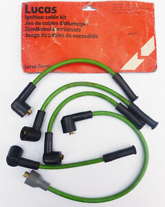Lucas 51020461, New Old Stock LHT201 Ignition Cable Kit for MG Midget, Triumph