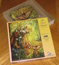 Josephine Wall Art - The Wood Nymph - 1000 Pc Puzzle 20 x 27 - Assembled