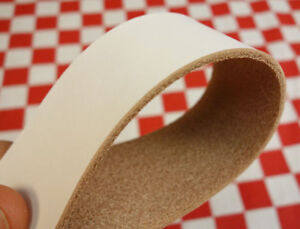 HORWEEN  DIRTY WHITE VEGETABLE TANNED  LEATHER STRAPS, SELECT YOUR SIZE.