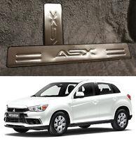 Mitsubishi ASX 2013-2017 Cromo Puerta Umbral Protector Protector de adornos de placa de desgaste (Reino Unido)