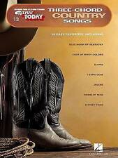 USED (GD) Three-Chord Country Songs: E-Z Play Today Volume 13 by Hal Leonard Cor