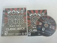 Rock Band Track Pack: Classic Rock (Sony PlayStation 3, 2009) Ps3 CIB FREE SHIP