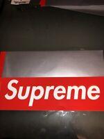 Supreme Box Logo Sticker Scratch Off 100% Authentic Bogo FW19 Free Shipping !