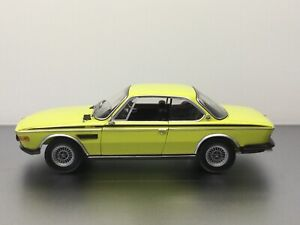 Minichamps 1:18 BMW CSi/CSL Yellow 1972 Dealer Modell Art. Nr: 80 43 0 137 980