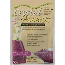 Crystal Accents Royal Amethyst Water Storing Gel - Makes approximately 8.5 Pints