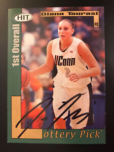 2004 SAGE HIT 38 Diana Taurasi SIGNED AUTO Autograph Rookie Card RC Space Jam
