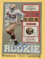 2010 Playoff Contenders Taylor Mays #193 Rookie Ticket Autograph Auto RC