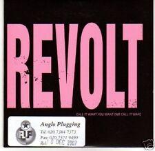 (H351) Revolt, Call It What You Want - DJ CD
