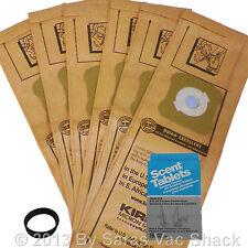 6 Kirby Micron Magic Vacuum Cleaner Bags Belt Scent Tabs G3 G4 G5 G6 G7 Sentria