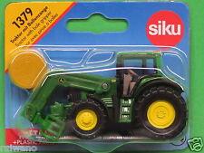 Siku Super Serie 1379 Traktor John Deere 7530 mit Ballenzange