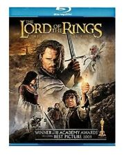 LORD OF THE RINGS BRAND NEW BLU RAY 2-DISC MOVIE SET FILM THE RETURN OF THE KING