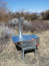Side Kick Wood Camp Tent Stove - Riley Stoves - Kit 3A