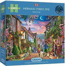 Gibsons Mermaid Street Rye 500 XL Piece Jigsaw Puzzle