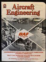 Aircraft Engineering Magazine December 1982 Volume 54 Number 12 BAF LTD