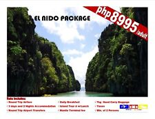 El Nido Palawan Package Tour with Airfare
