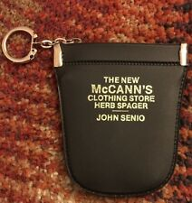 Vintage The New McCann's Clothing Store Herb Spager John Senio Coin/Key Pouch