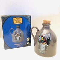 """NECA Nightmare Before Christmas SALLY 7"""" Ceramic Decorative Jug W/ Cork NIB HTF!"""