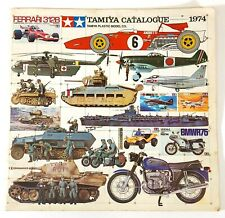 Vintage Tamiya 1974 Plástico Modelo Catálogo O534