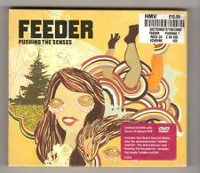 (HZ313) Feeder, Pushing The Senses - 2005 Ltd Ed CD + DVD