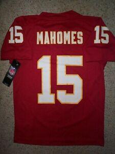 (2020-2021) Kansas City Chiefs PATRICK MAHOMES Jersey YOUTH KIDS BOYS (s-small)