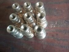 """Hansen Coupling Co, 1/2"""", Series 5000, Push-To-Connect Brass Couplings*Lot of 9*"""