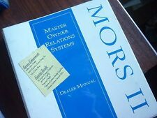 1995 FORD MORS II OWNER RELATIONS DEALER ALBUM