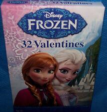 Valentines Day Cards (Box of 32) Disney Frozen