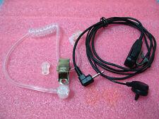 Auriculares Auricular del FBI micrófono para Motorola hablan del radio 1 Pin 6200 C T5200 Radio